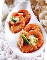 Lạ mắt, ngon miệng với món mực nướng Wasabi