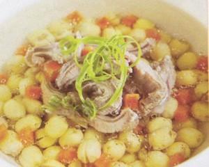 Bí quyết làm món canh hạt sen gân bò bằng nồi nấu phở