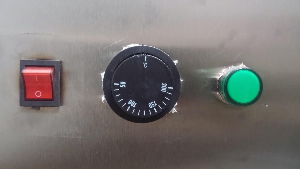 điều chỉnh nhiệt độ nồi nấu phở