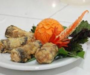 Lươn cuốn thịt nướng