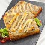 Dùng lò nướng bánh mì làm món sandwich nướng thịt băm
