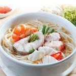 Công thức làm món bún cá lóc và hải sản bằng nồi nấu phở