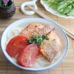 Thử sức với món bún cá nướng làm từ nồi nấu phở