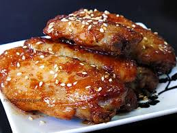 Cánh gà nướng sốt teriyaki