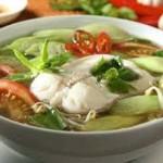 Canh cá quả nấu dọc mùng ngon cơm ngày lạnh