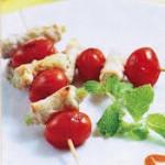Thịt nướng cà chua bi hấp dẫn nhờ lò nướng bánh mì