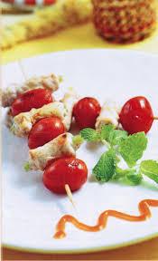 Thịt nướng cà chua bi