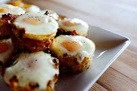 Trứng nướng khoai tây