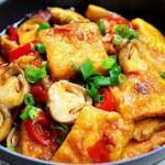 Ngon cơm ngày lạnh với món đậu phụ sốt nấm