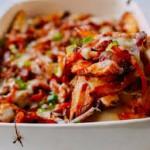 Ngon cơm ngày lạnh với kim chi nướng pho mát, khoai tây