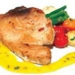 Cá thu nướng rau quả cực ngon nhờ lò nướng bánh mì