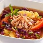 Cách nấu canh chua bắp cải tím
