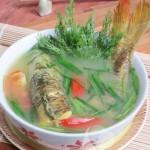 Nồi nấu phở giúp canh riêu cá chép chua ngọt