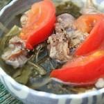 Công thức làm món canh cải chua nấu gân bò bằng nồi nấu phở