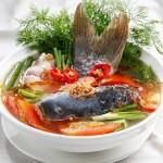 Trổ tài với món canh riêu cá chép bằng nồi nấu phở
