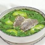 Làm mới thực đơn với món canh cá rau đay bằng nồi nấu phở
