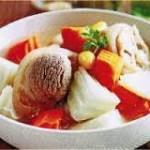 Mới lạ với món canh súp bạch quả bằng nồi phở điện