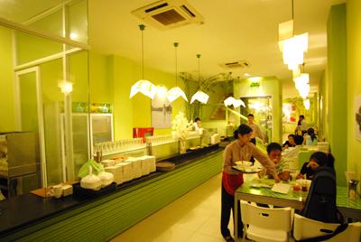 Phở cồ Nam Định nấu bằng nồi nấu phở điện