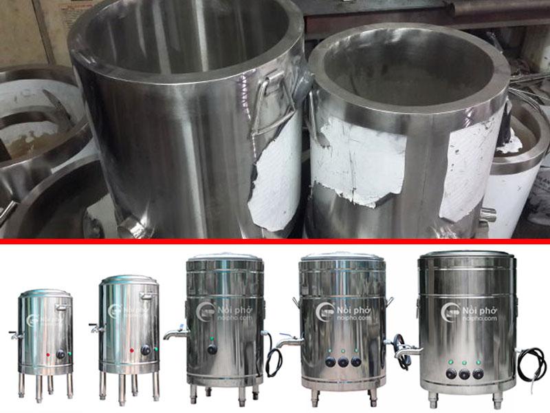 Các dòng sản phẩm trong nộ nồi nấu phở điện chất lượng cao Bếp 36