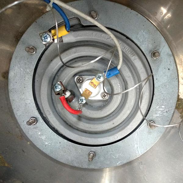 Mặt dưới mâm nhiệt (đĩa nhiệt) 3000W