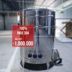 Nồi nấu phở đĩa nhiệt 100 lít – Nồi nấu nước dùng năng suất cao